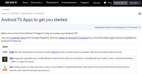 Sony Android TV Wiki