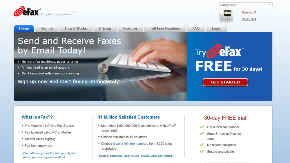 Best Online Fax Services 2018 - Top 6 Best Services You'll
