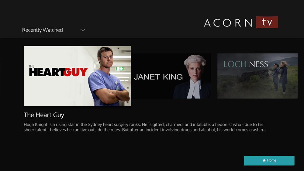 Acorn Tv Subscription