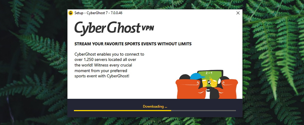 CyberGhost Installation