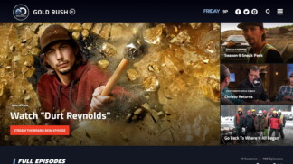 Discovery Channel US Website
