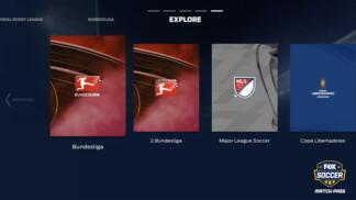 Fox Soccer Match Pass UI