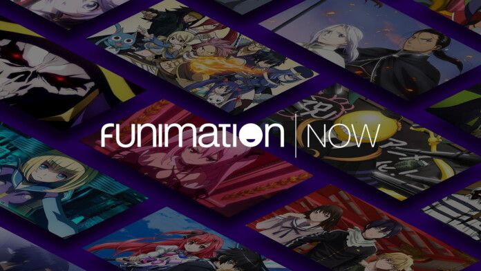 Funimation NOW Splash Screen