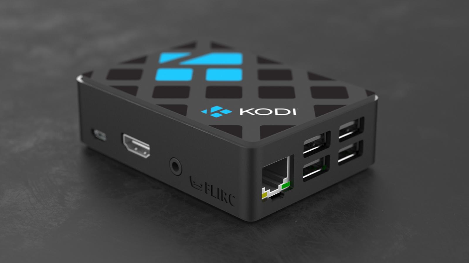Kodi Edition Raspberry Pi Case (v2)