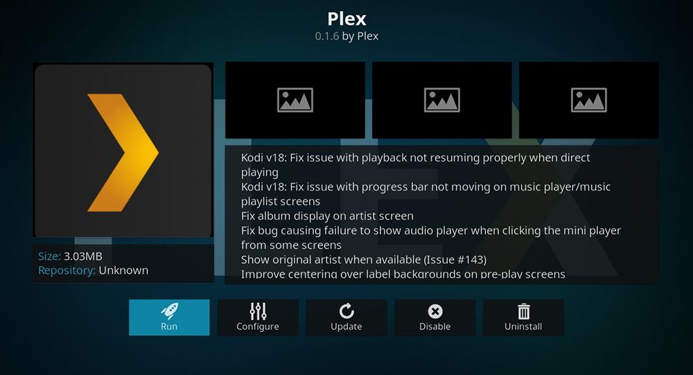 Plex for Kodi