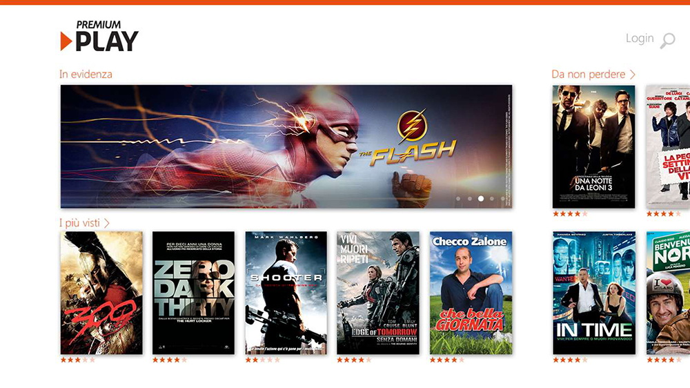 Premium Play Mediaset Windows App
