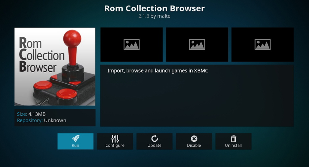 ROM Collection Browser for Kodi