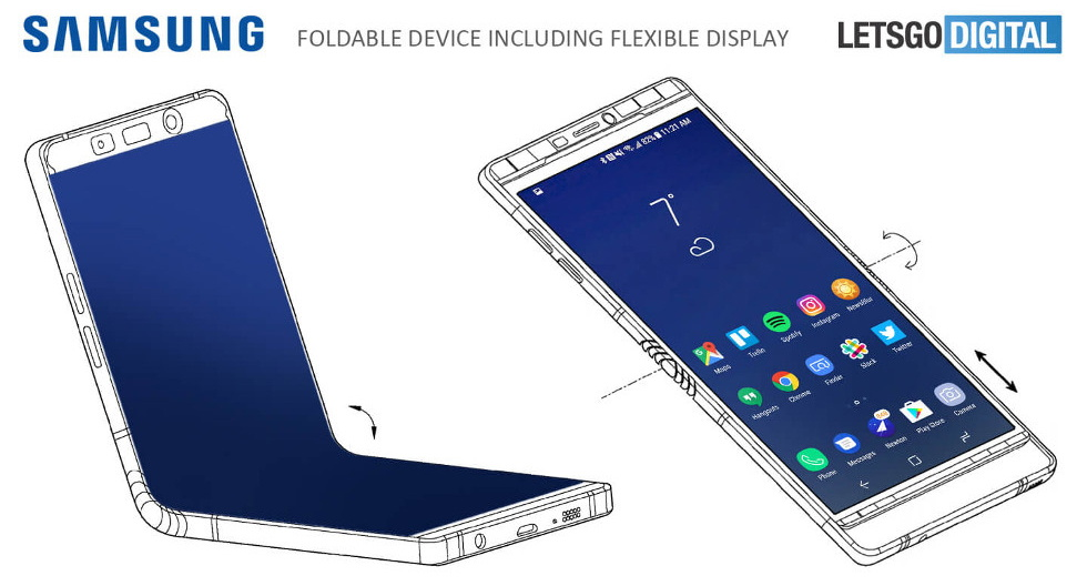 Samsung Foldable Phone Concept