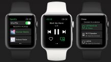 Spotify Releases Its Official App for Apple watchOS
