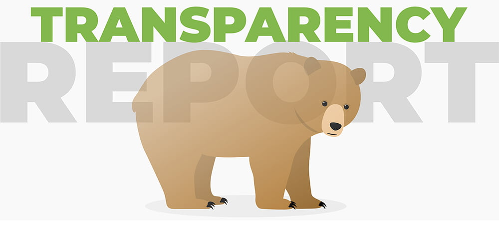 TunnelBear Transparency Report