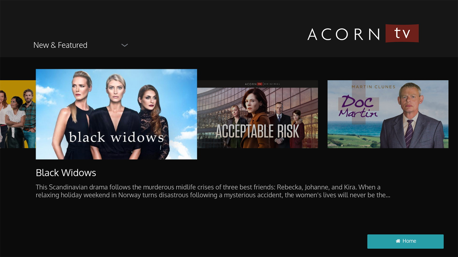 Acorn TV Streaming Service Reaches Out to Australia and New