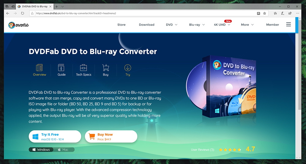 DVDFab DVD to Blu-Ray Converter - Pricing