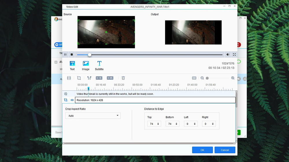 DVDFab DVD to Blu-Ray Converter - Video Editing