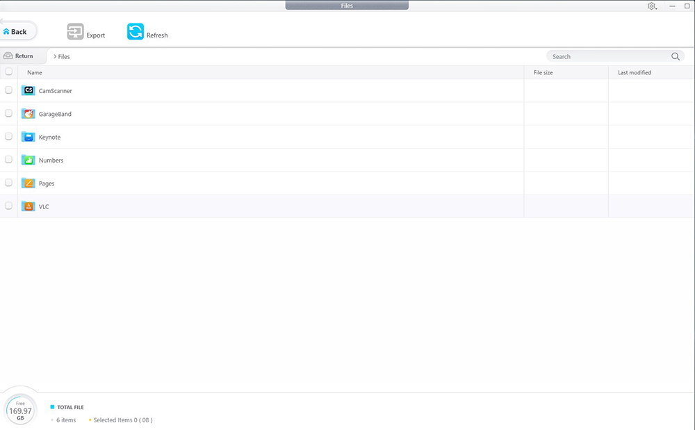 DearMob iPhone Manager - File Manager