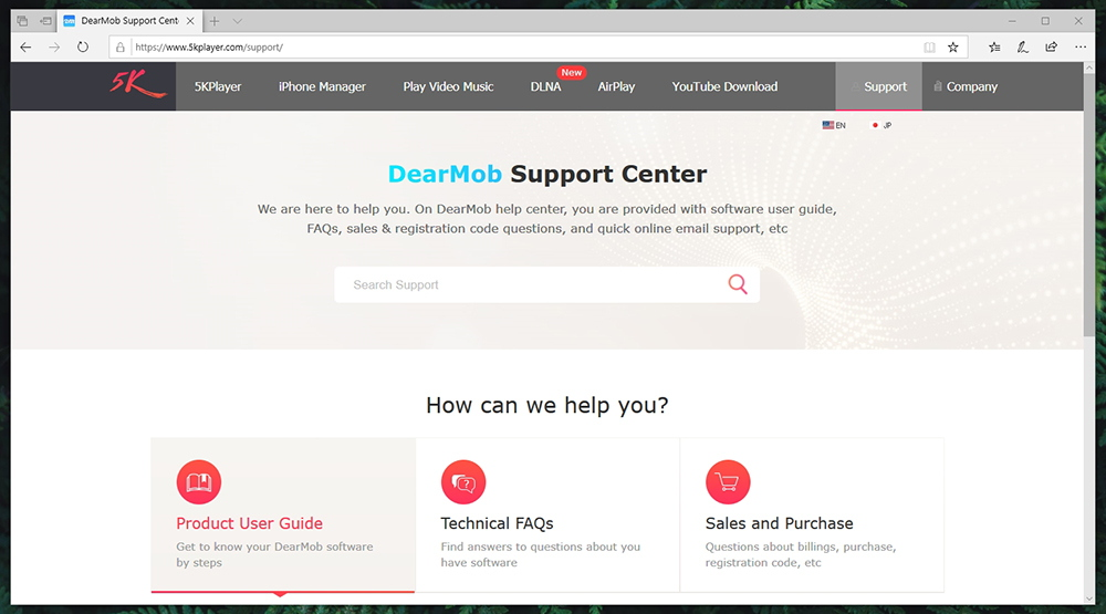 DearMob iPhone Manager - Support Center