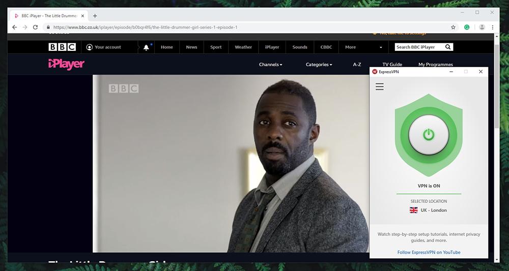 ExpressVPN - BBC iPlayer