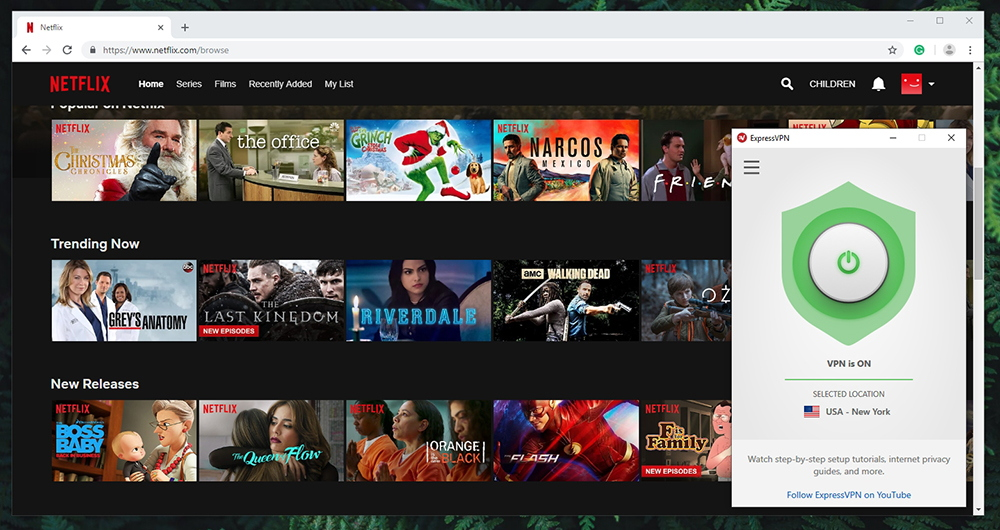 ExpressVPN - Netflix Unblocking