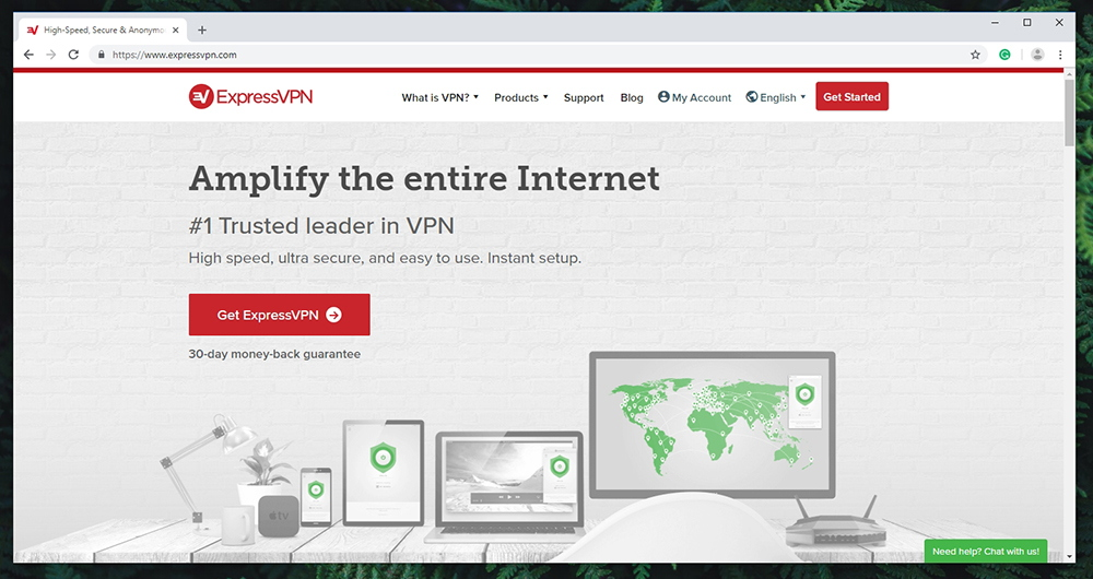 ExpressVPN - Website
