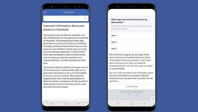 Facebook Photo API Bug Exposes Photos of Up to 6.8 Million Users