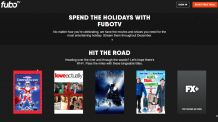 FuboTV Holiday Guide