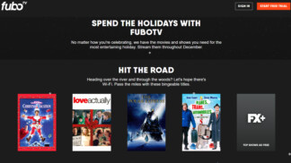 FuboTV Holiday Guide