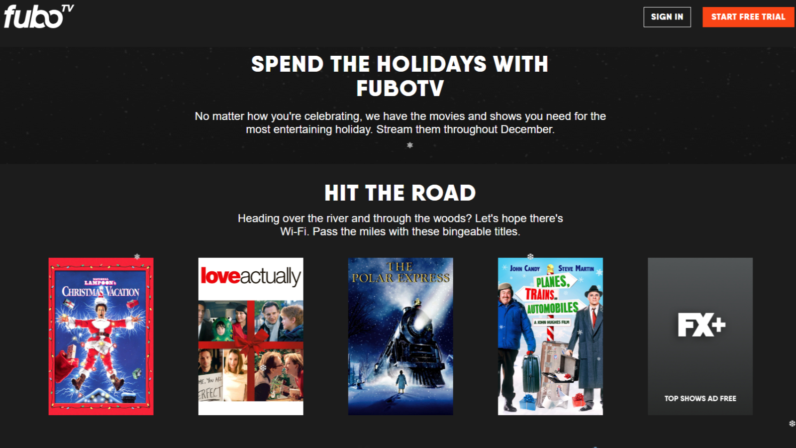 Christmas Vacation Streaming.Fubotv Sets Up Holiday Streaming Guide To Help You Find Your