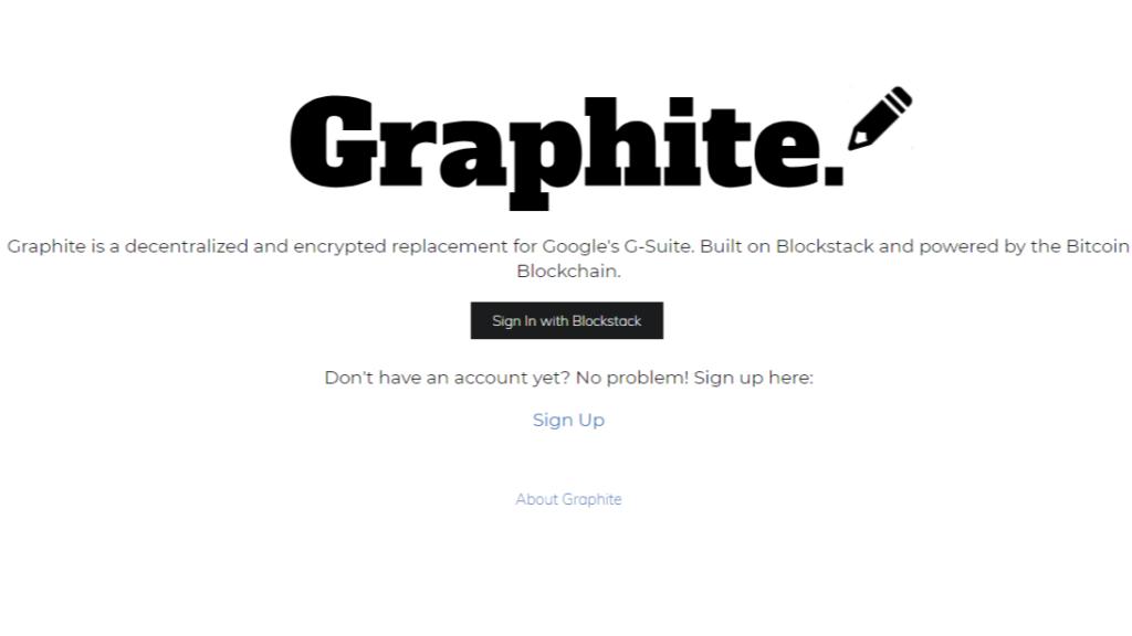 Graphite Docs App