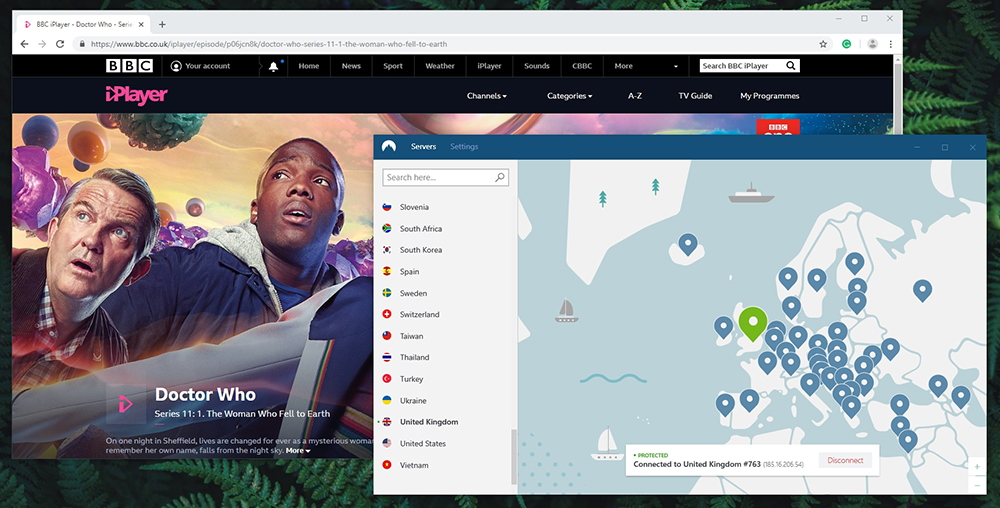 NordVPN Review - BBC iPlayer