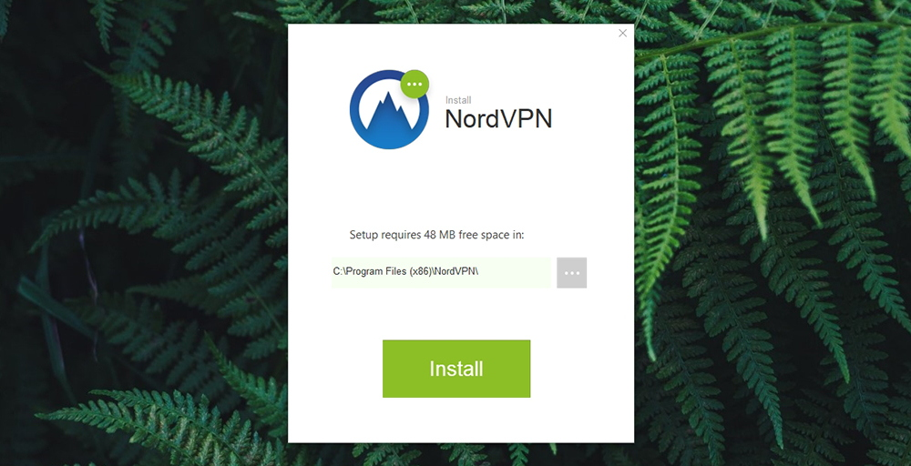 NordVPN Review - Installation