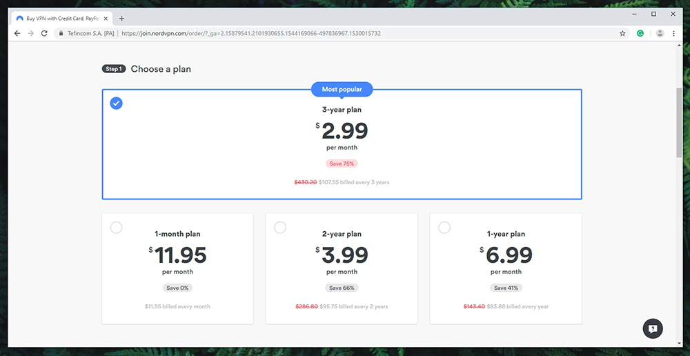 NordVPN Review - Pricing