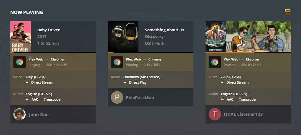 Plex Update Adds New Christmas Dashboard for the Holiday Season