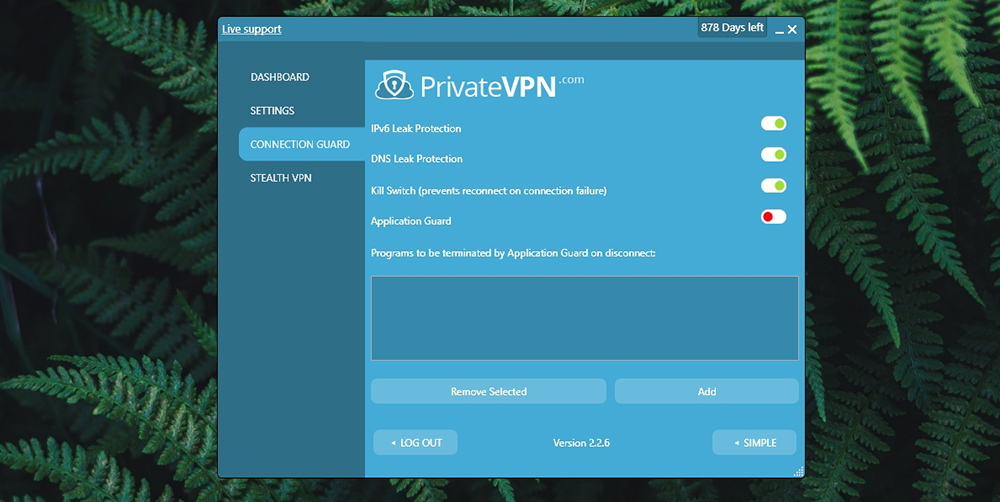 PrivateVPN Review - Connection Guard