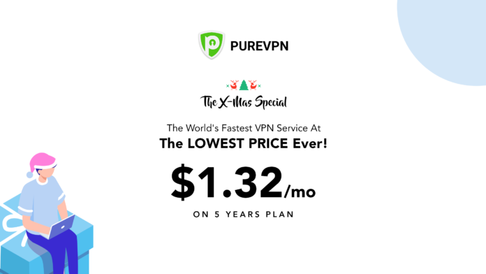 PureVPN Christmas Deal 2018