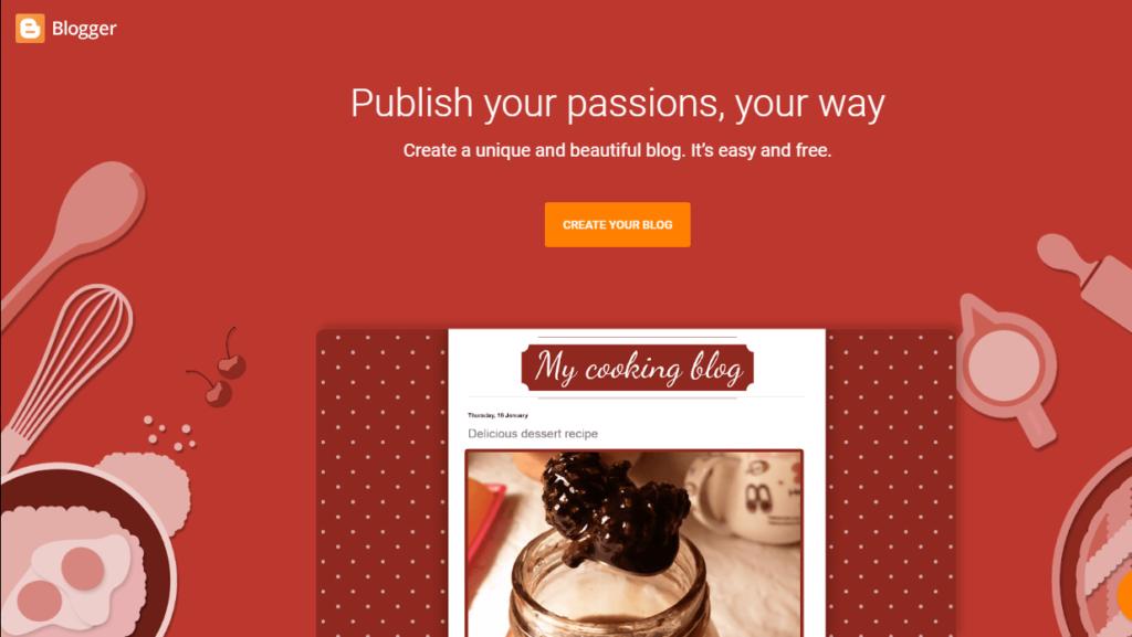 Tumblr Alternatives - Blogger