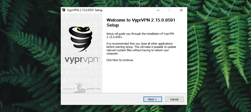 VyprVPN Review - Installation