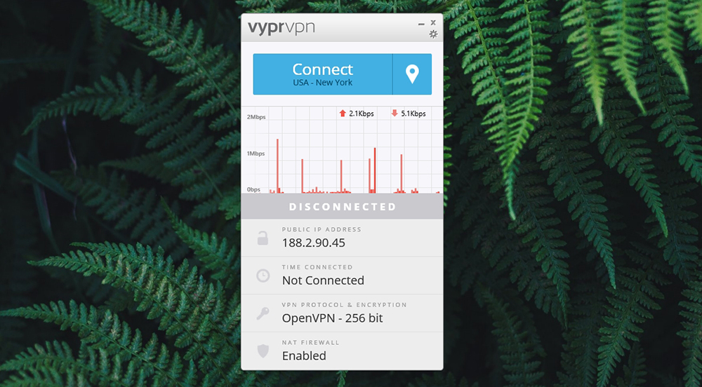VyprVPN Review - User Interface