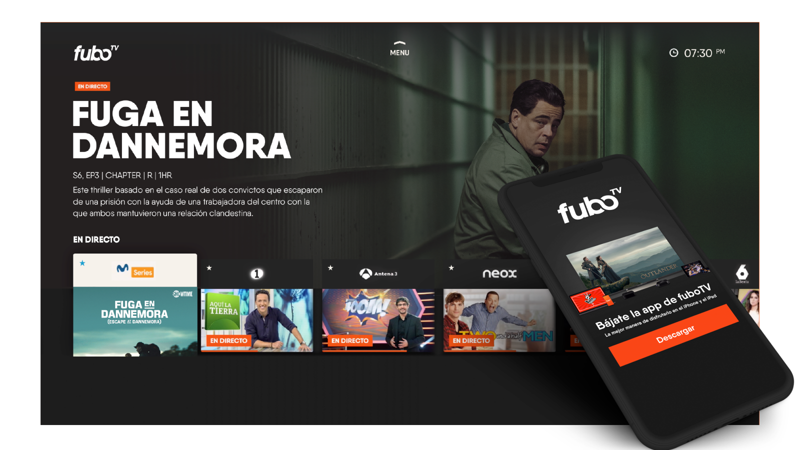 fuboTV Launches in Spain, the First US Live TV Platform to Do So