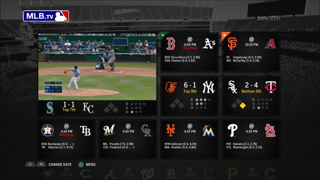 MLB.TV offers loads of games
