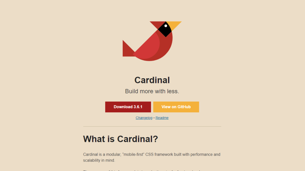 Bootstrap Alternatives - Cardinal