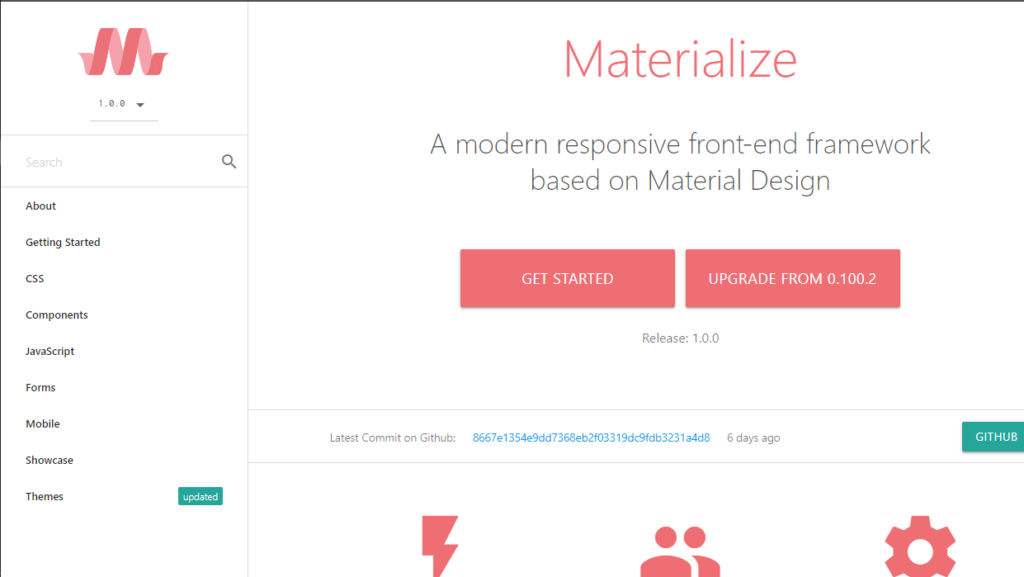 Bootstrap Alternatives - Materialize