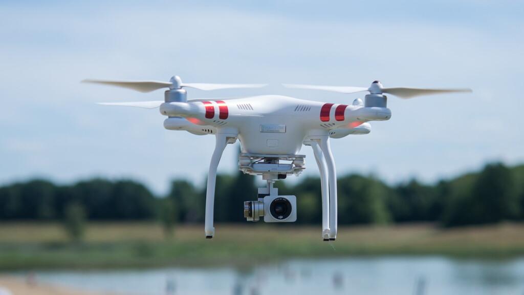 DJI Quadcopter Drone