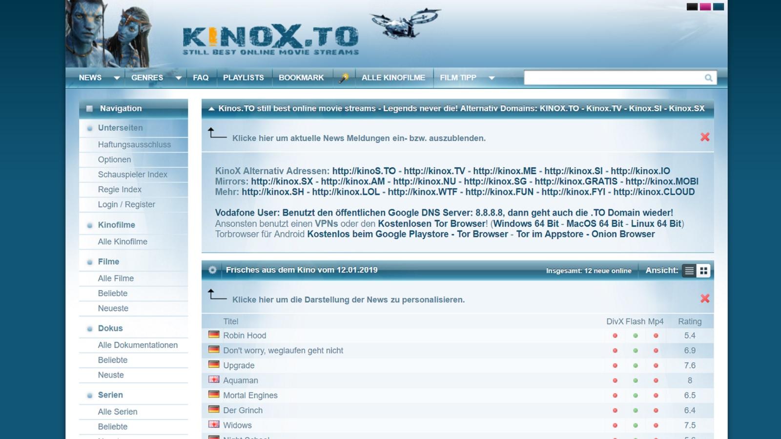 Kinox Domains