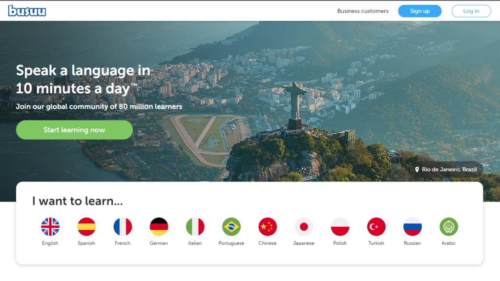 Duolingo Alternatives - Busuu