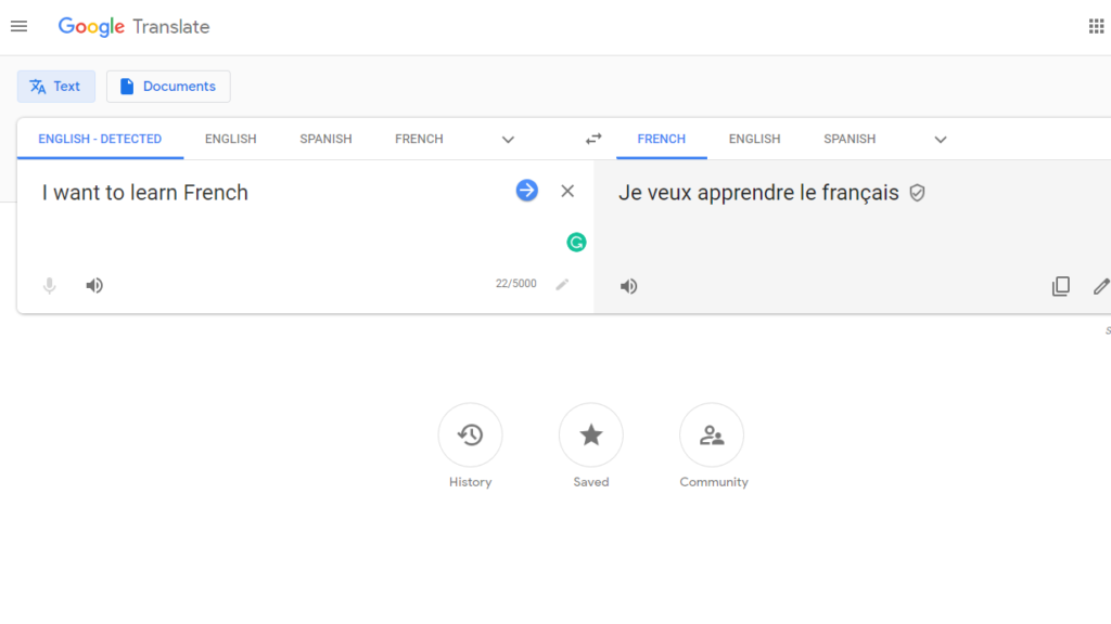 Duolingo Alternatives - Google Translate