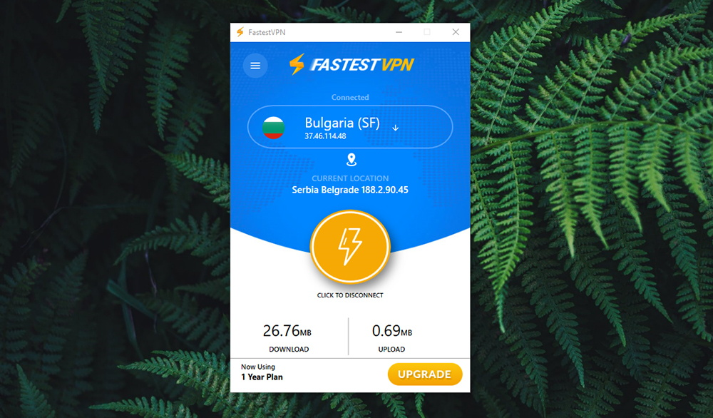 FastestVPN Review - Connectivity Stats