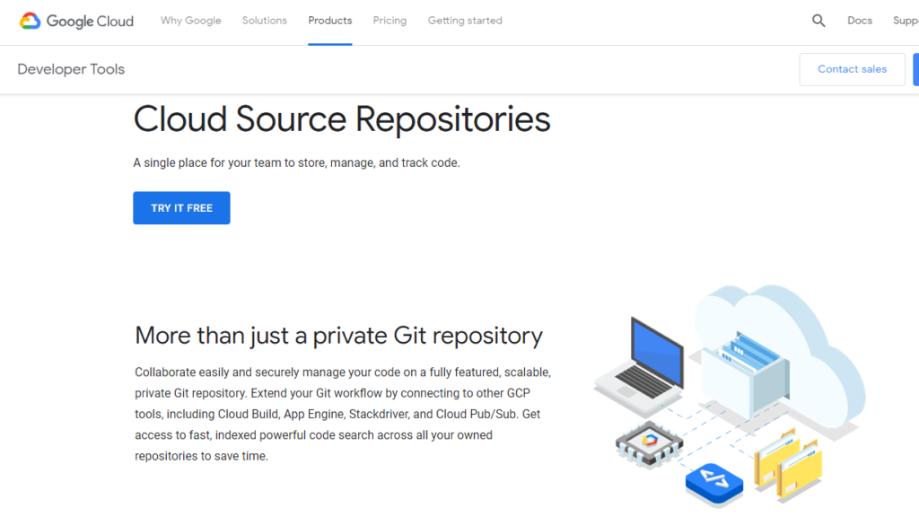 GitHub Alternatives - Cloud SOurce Repositories