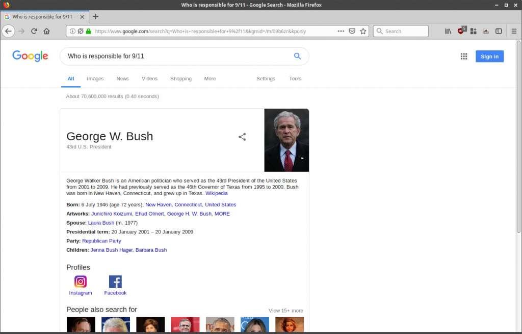 Google Knowledge Panel Exploit