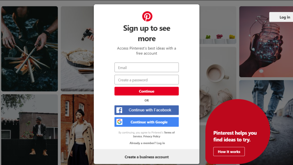 Google Plus Alternatives - Pinterest