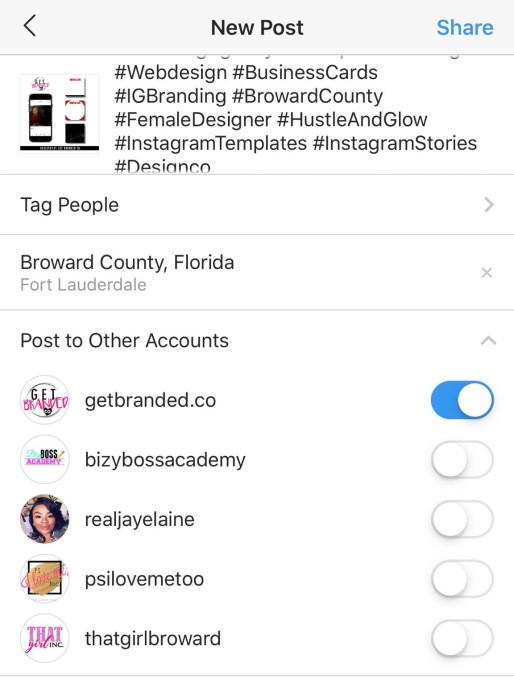 Instagram New Posting Interface