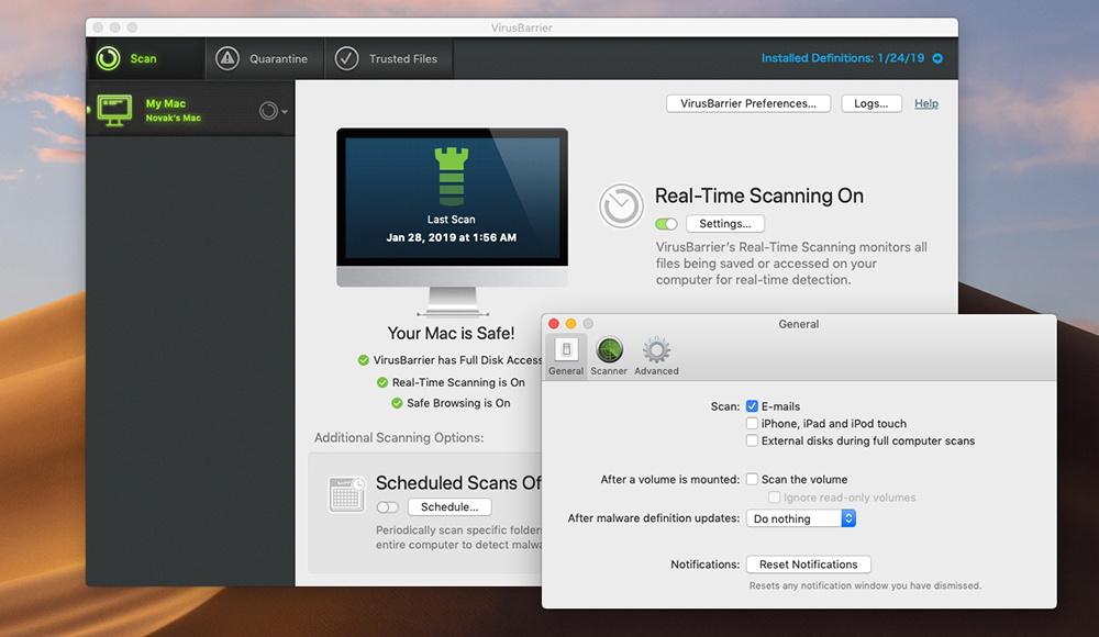 Mac Premium Bundle X9 - General Preferences